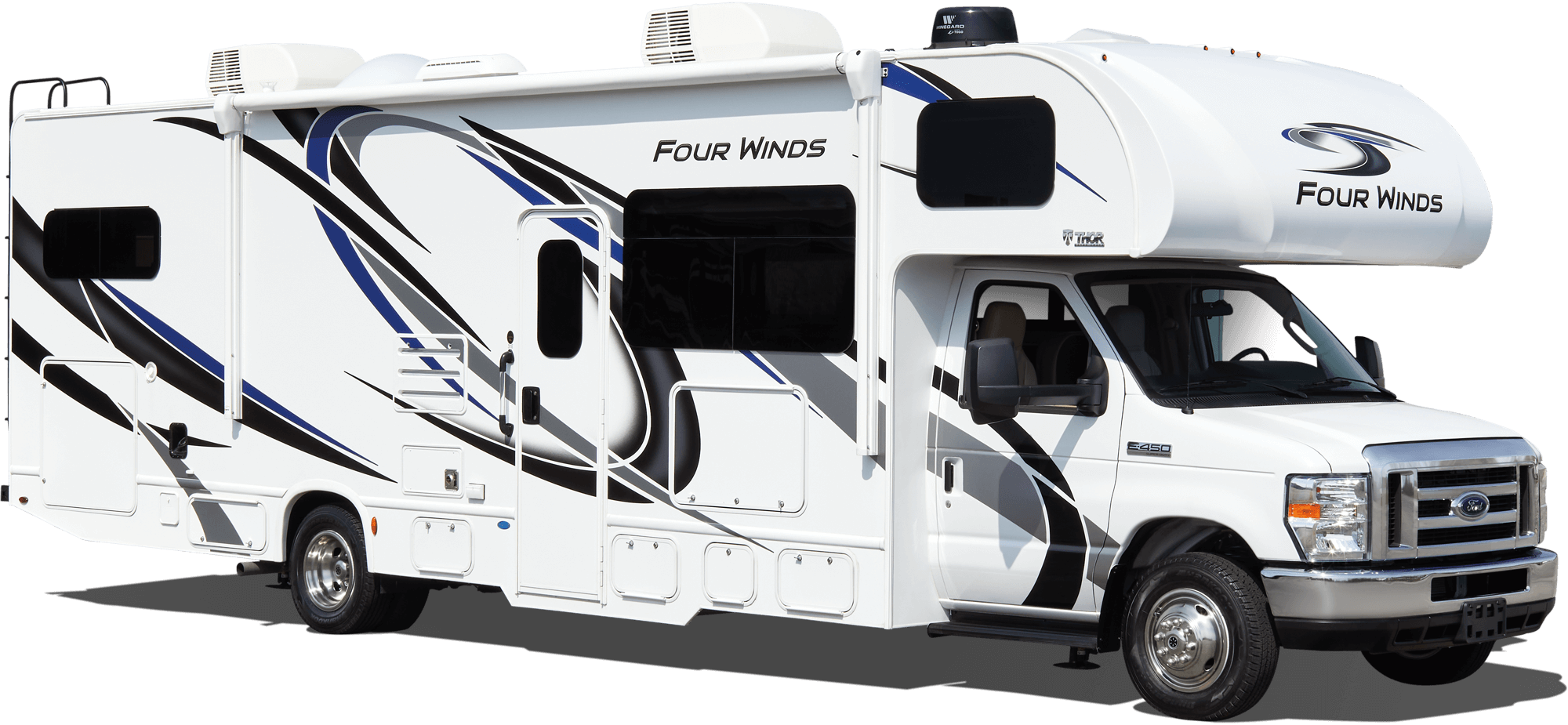 Four Winds Class C RV Exterior
